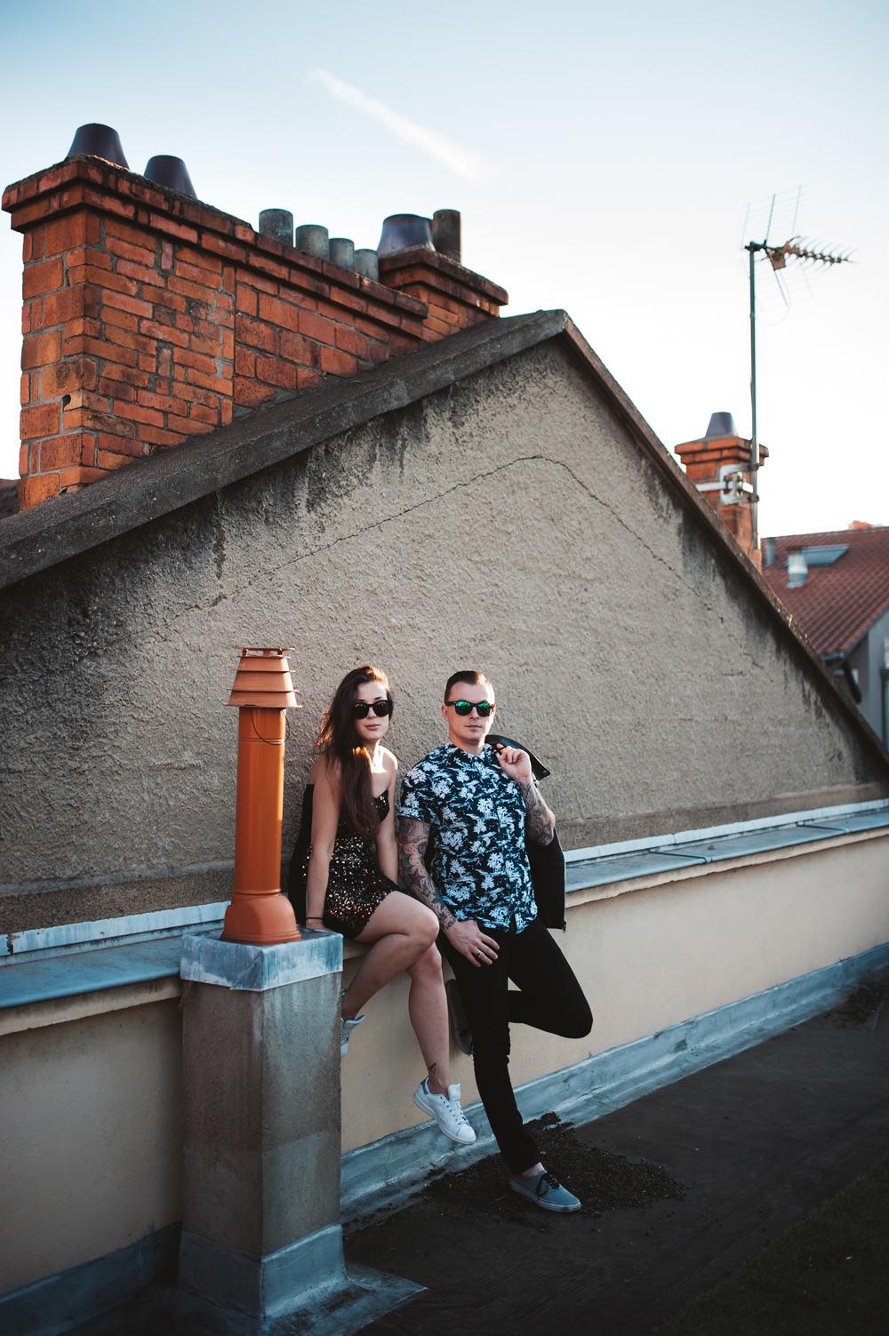 melanie-bultez-photographe-mariage-alternatif-rock-rooftop-wedding-couple-lyon-1