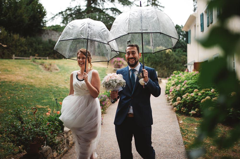 mariage sous la pluie vienne photographe