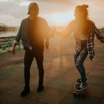 rock, wedding, photographer, brighton, skateboard